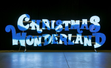 Christmas Wonderland vervaardigd met Multicolour Smart LED.